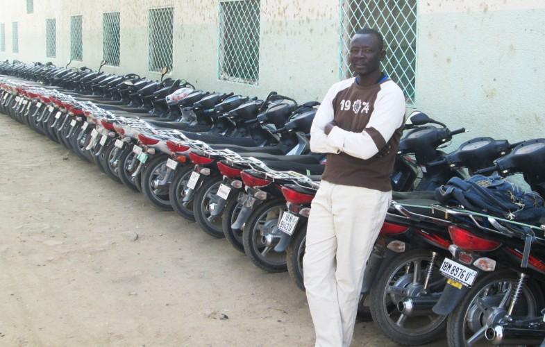 Nguétobaye Hervé : Un diplômé sans emploi, gardien des engins