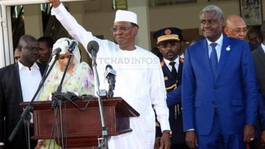Tchad: Idriss Déby appelle tous les Tchadiens à soutenir Moussa Faki dans ses actions
