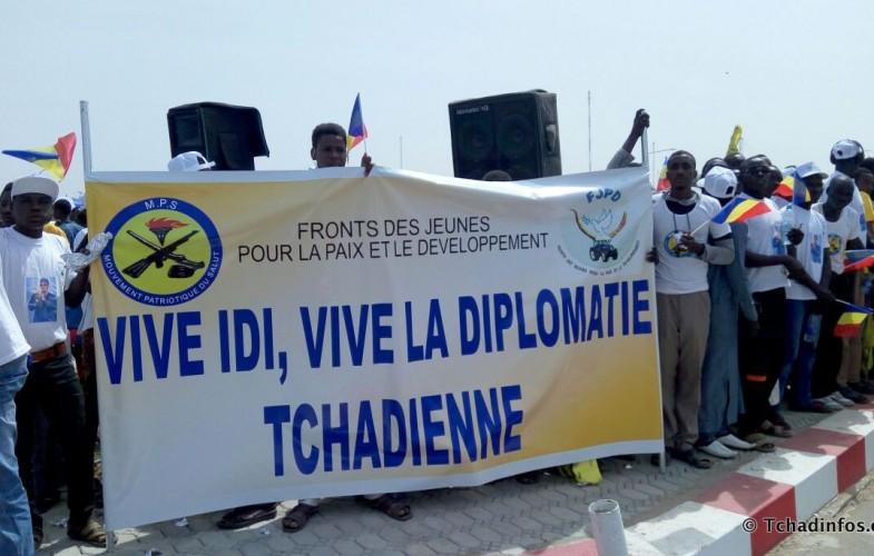 N'Djamena en liesse pour accueillir le Président et sa délégation