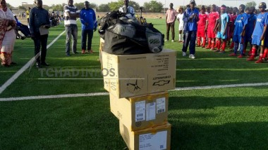 Tchad: Des matériels et équipements sportifs à 7 clubs de football féminin