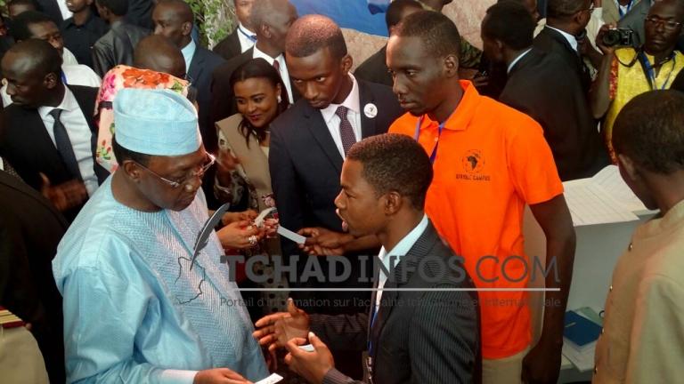 Salon international de l'étudiant africain: Idriss Déby exhorte les jeunes à avoir une conscience aiguë