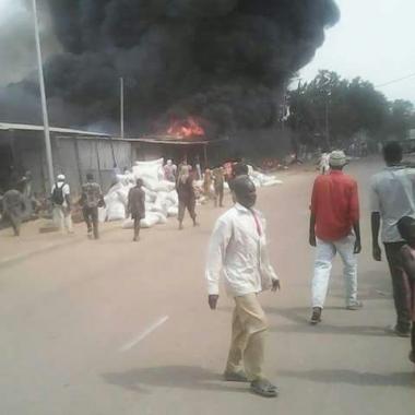 Tchad: Enormes dégâts au marché central de Sarh après un incendie