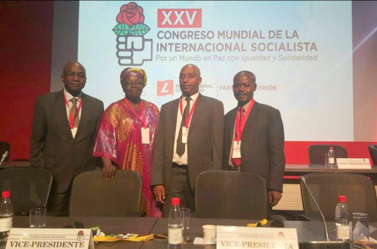 Politique: l'UNDR devient membre de plein droit de l'Internationale Socialiste
