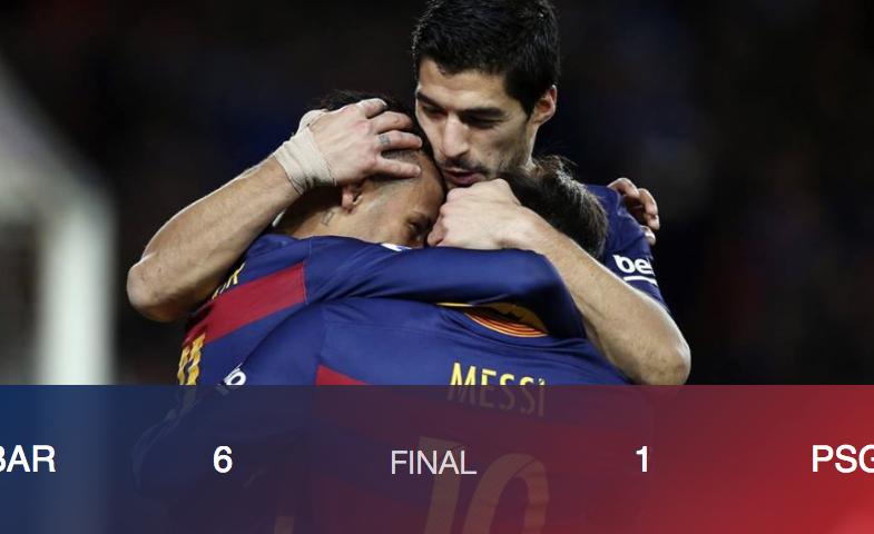 Ligue des champions : le Barça a réalisé l'impossible Remontada