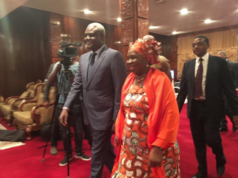 UA : arrivée de Moussa Faki à Addis-Abeba pour prise de fonction