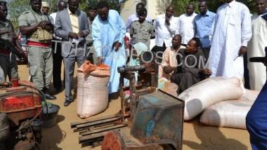 Société : Trois malfrats fabricants  de tomate en poudre avec des briques cuites arrêtés
