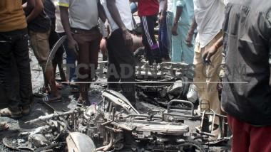 Fait divers: incendie mineur au marché à mil de N'Djamena