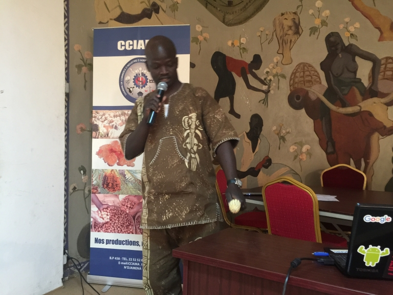 FUTURE AGRO CHALLENGE 2017, le représentant du Tchad est à Johannesburg