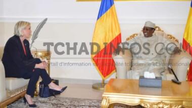 Décès du Président Déby : Marine Le Pen exprime sa peine