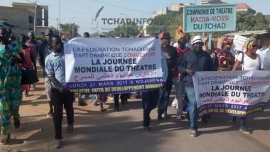 Journée mondiale du théâtre : les comédiens tchadiens appellent au réveil du théâtre tchadien