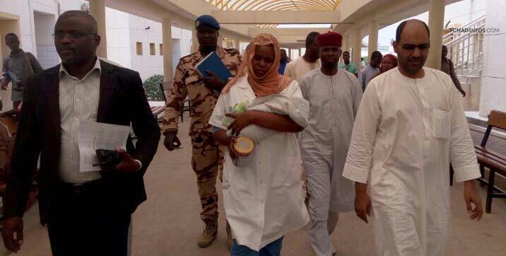 Tchad : le bébé volé à l'hôpital de la mère et de l'enfant retrouvé à Ridina 2