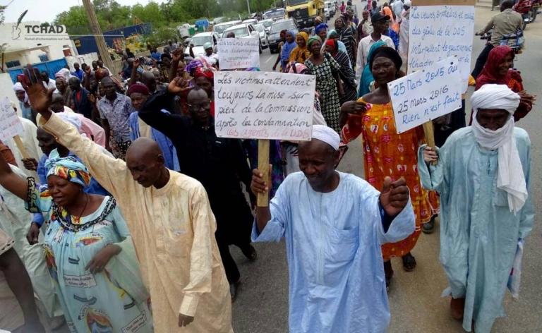 Tchad : les victimes de Hissein Habré réclament une audience avec le président Deby