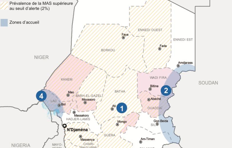 Tchad : les crises humanitaires persistent au pays selon OCHA