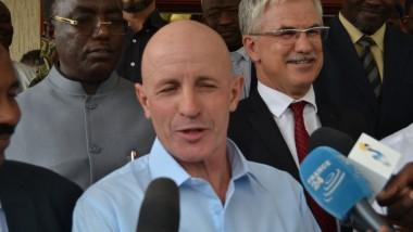 Tchad : l'ex-otage français Thierry Frezier est arrivé à N'Djamena