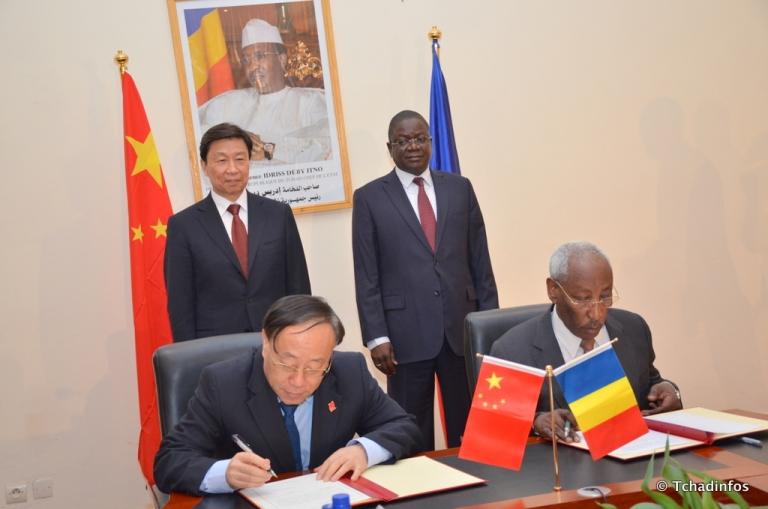 """La Chine satisfaite de sa """"très bonne coopération"""" avec le Tchad"""
