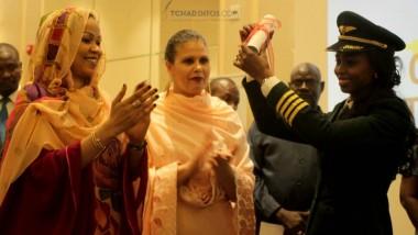 Iyalat : Zenab Issa Oki Soumaine, 1ere femme tchadienne commandante de bord