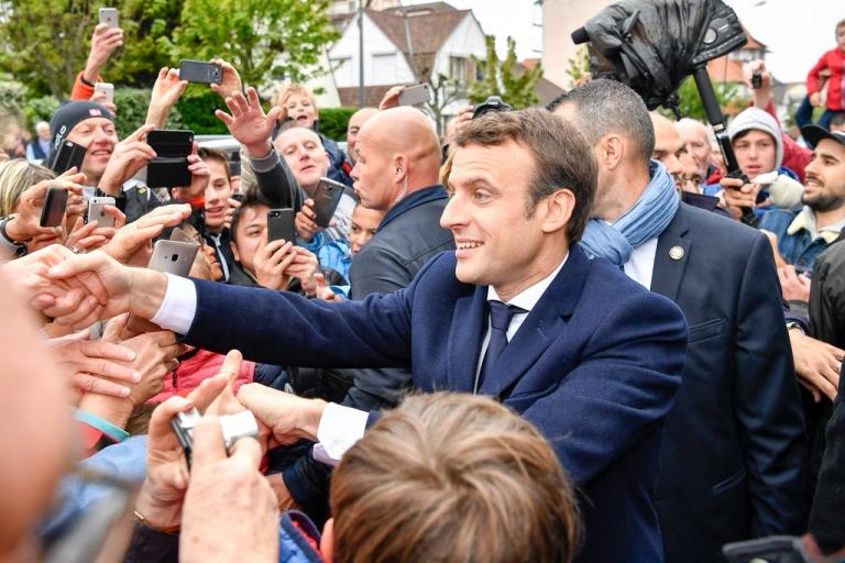 France/présidentielle : Emmanuel Macron, élu président de la République