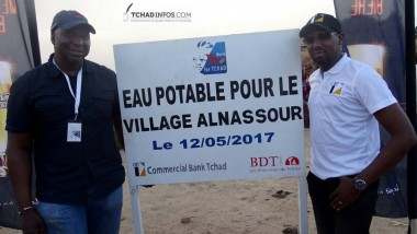La Commercial Bank Tchad fait don de plusieurs forages d'eau