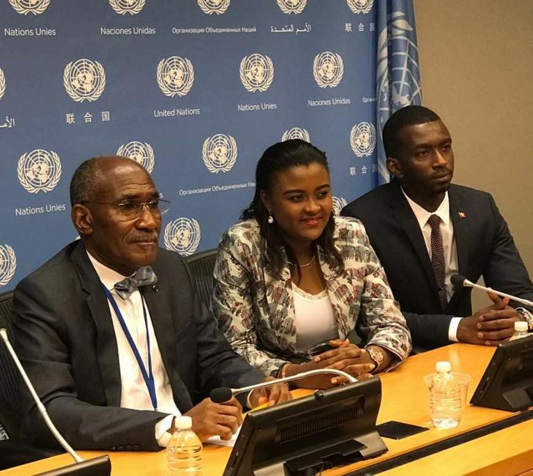Débat à New York sur le forum panafricain de la jeunesse