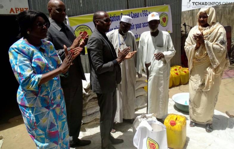 Tchad: la Fondation grand cœur offre des vivres à l'approche du ramadan