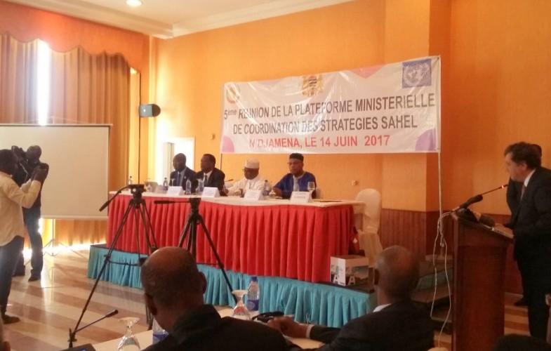 5e session ordinaire de la plateforme ministérielle de coordination des stratégies Sahel à N'Djamena