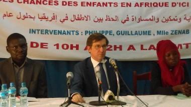Conférence de presse de L'UNICEF à la maison des médias autour du projet <<U-Report>>