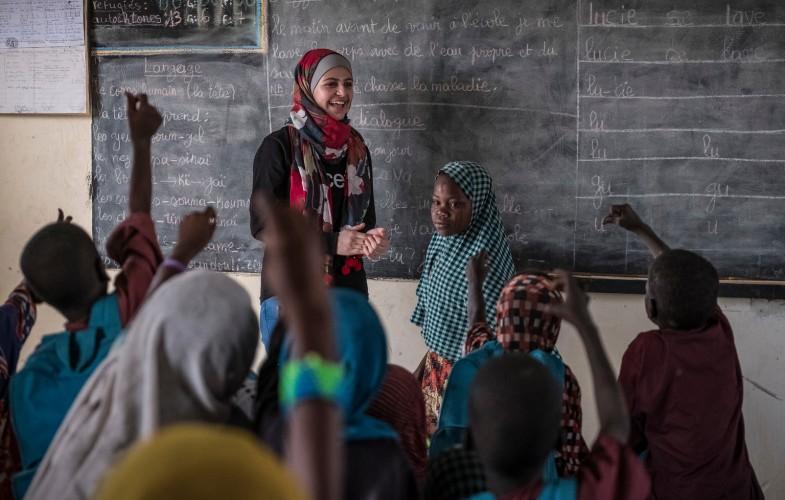 UNICEF nomme la jeune réfugiée syrienne Muzoon Almellehan comme ambassadrice de bonne volonté