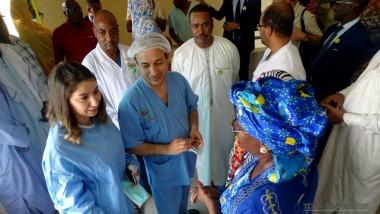Des médecins turcs à l'hôpital de la mère et de l'enfant  pour opérer des malformations congénitales