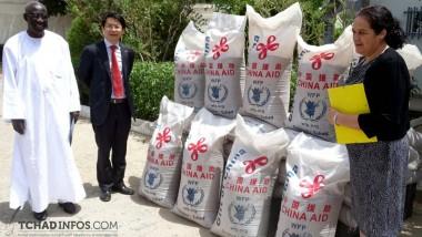 Tchad : la Chine offre des vivres d'une valeur de 4 millions $ au PAM