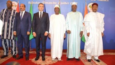 Sommet G5 Sahel : Macron annonce un appui de près de 8 millions € pour la force conjointe anti-terroriste