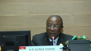 """Sommet de l'UA : """"prenons le train de l'action pour réaliser le dividende démographique"""" Alpha Condé"""
