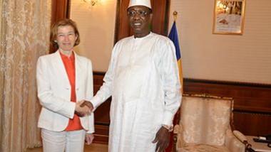 """""""le Tchad est un allié important, efficace, engagé dans cette zone du Sahel"""", Florence Parly"""