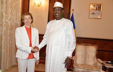 Tchad : La ministre française des Armées Florence Parly est à N'Djamena