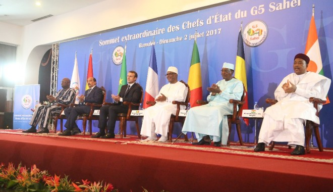 La première opération de la force G5 Sahel est lancée