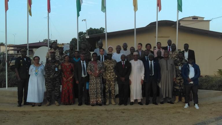 Tchad : Une délégation du Conseil de paix et de sécurité de l'UA en visite à la Force Multinationale Mixte