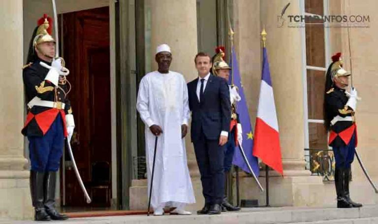 Idriss Deby Itno reçu à l'Elysée
