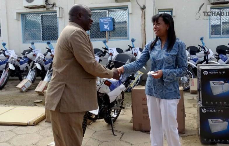Le PNUD soutient ses partenaires en équipements et matériels