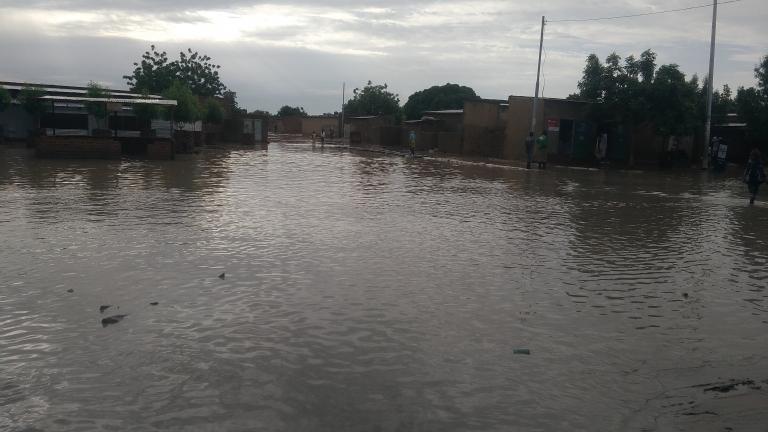 N'Djaména : Les quartiers périphériques pieds dans l'eau