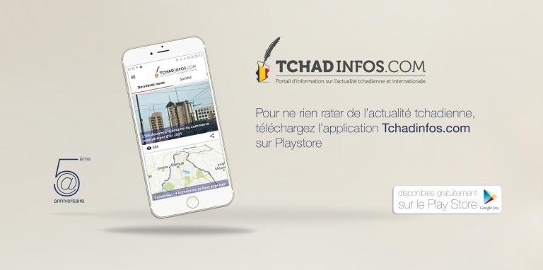 Tchadinfos.com lance son application