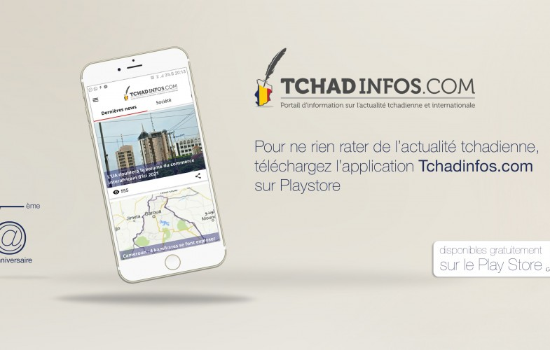 Tchadinfos.com lance son application