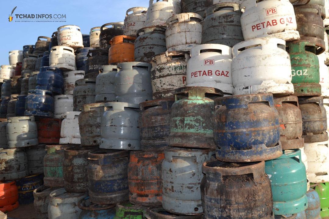 Tchad les nouveaux tarifs des bouteilles de gaz sont - Tarif bouteille de gaz ...