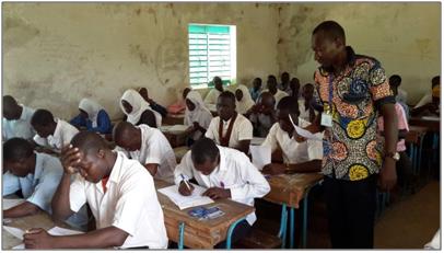Tchad: 1 338 élèves réfugiés composent le baccalauréat 2017