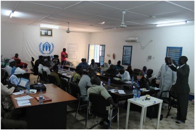 Humanitaire: Le HCR et le PNUD forment des réfugiés et des Tchadiens à l'éducation entrepreneuriale et financière