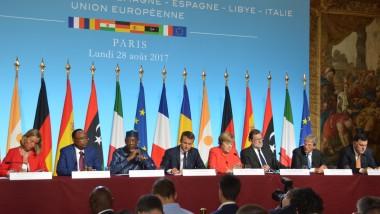Dirigeants européens et africains réunis en mini-sommet à Paris au chevet de la crise migratoire