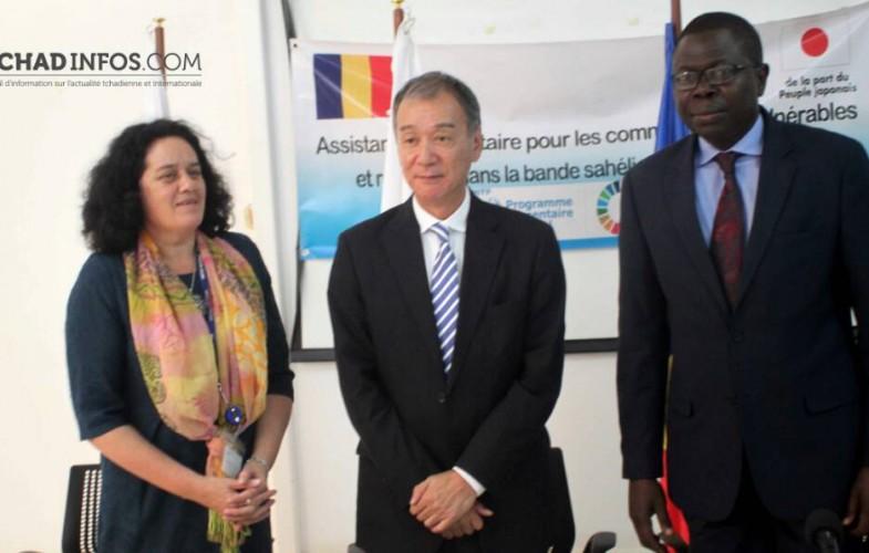 Tchad: le Japon octroi 2,6milliards de FCFA aux opérations du PAM