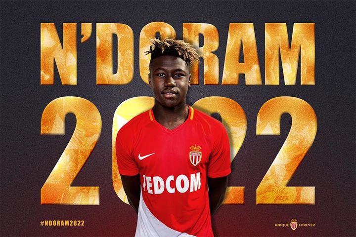 Iyalat: Kevin Ndoram prolonge son contrat avec As Monaco