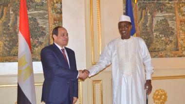 Tchad/Égypte : Le Président Abdelfatah Al Sissi en visite au Tchad