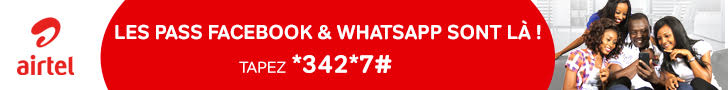 Airtel Tchad pass facebook whatsapp