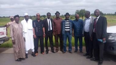 Tchad : visite des chefs de parti de l'opposition à Laoukein Kourayo Médard