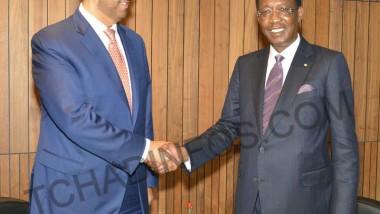 PND : Idriss Deby Itno reçoit les délégations du FMI et du PNUD